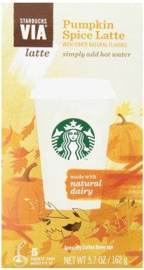Starbucks Pumpkin VIA